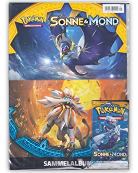 Pokemon sol & Luna - Starter álbum de recortes + Booster ...