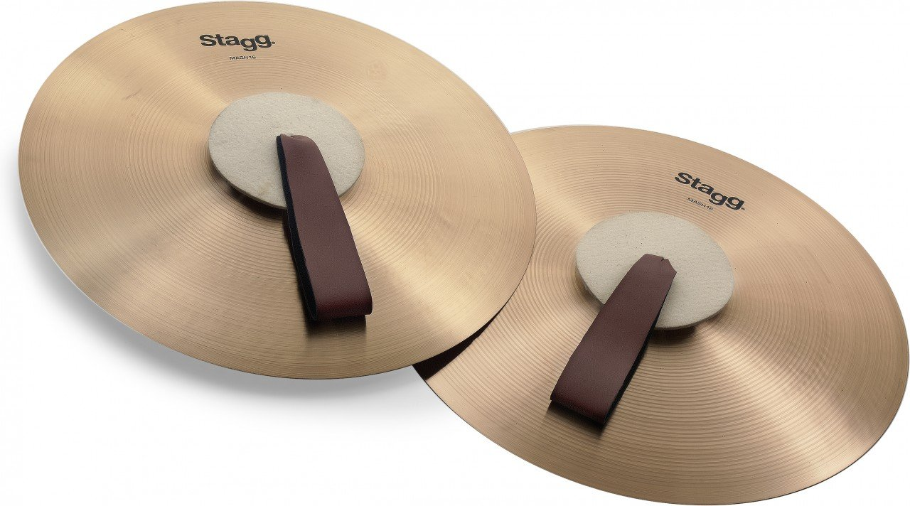 Stagg MASH16 Marching Cymbal by Stagg