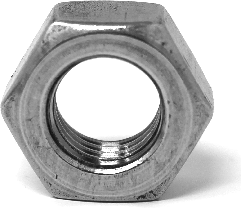 10 /écrou h/éxagonal M8 DIN 934//ISO 4032 standard inoxydable acier inox A2 V2A