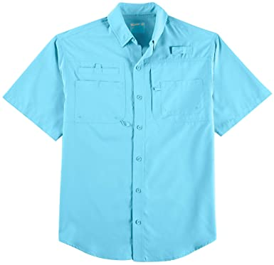 21619c23 Reel Legends Mens Big & Tall Saltwater Short Sleeve Shirt at Amazon Men's  Clothing store: