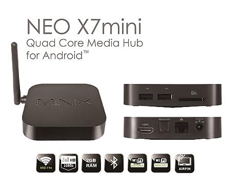 MINIX NEO X7 Smart Media Hub Download Driver