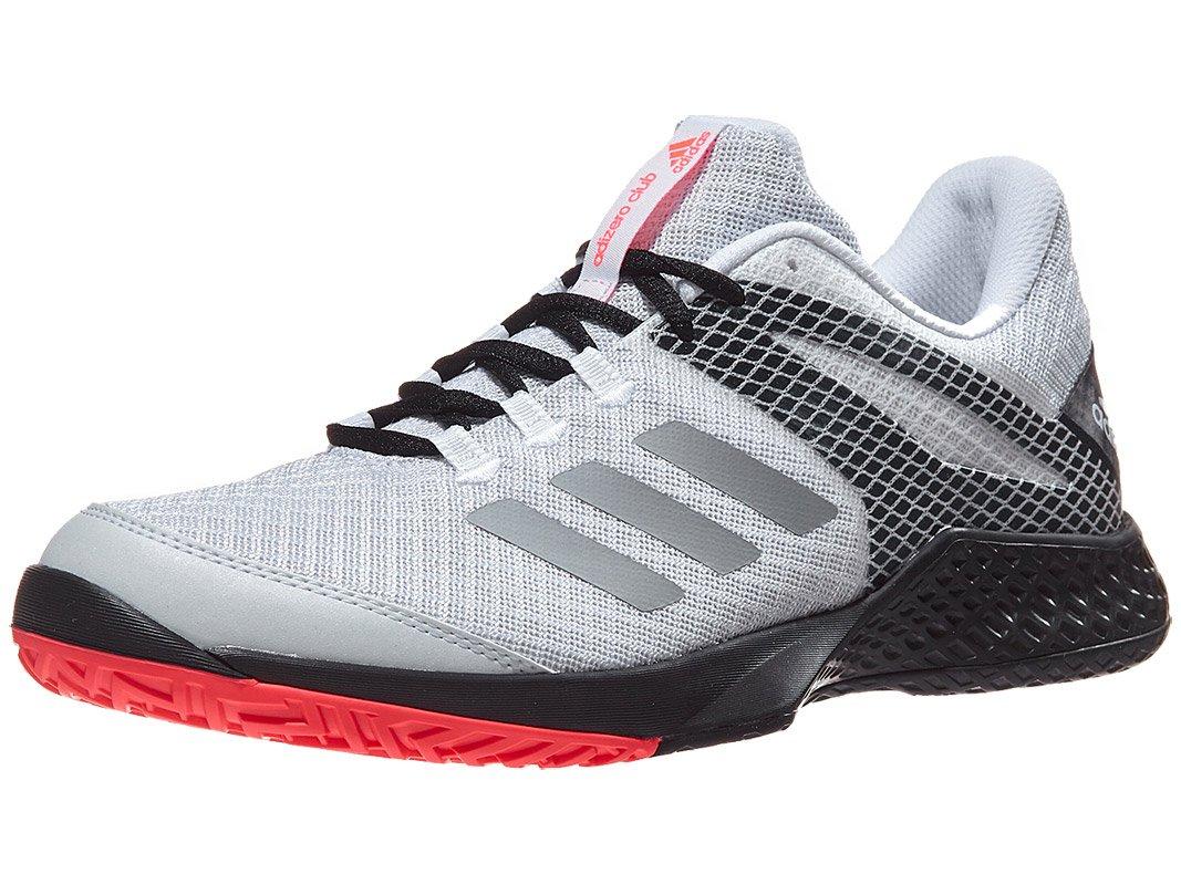 adidas Men's Adizero Club 2 White/Matte Silver/Black 11 D US