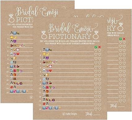 Party Games Activities Wedding Shower 25 Emoji Pictionary Bridal Shower Games Ideas Bachelorette Or Home Garden Hairdez Ir