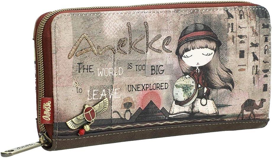 Anekke Billetero rígido estampado egipcio: Amazon.es: Zapatos y ...