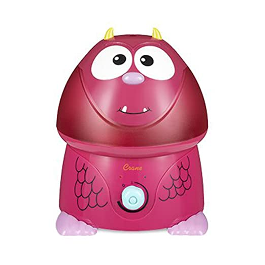 Details about Crane Scarlett the Frightful 1 Gal. Ultrasonic Cool Mist Humidifier Red
