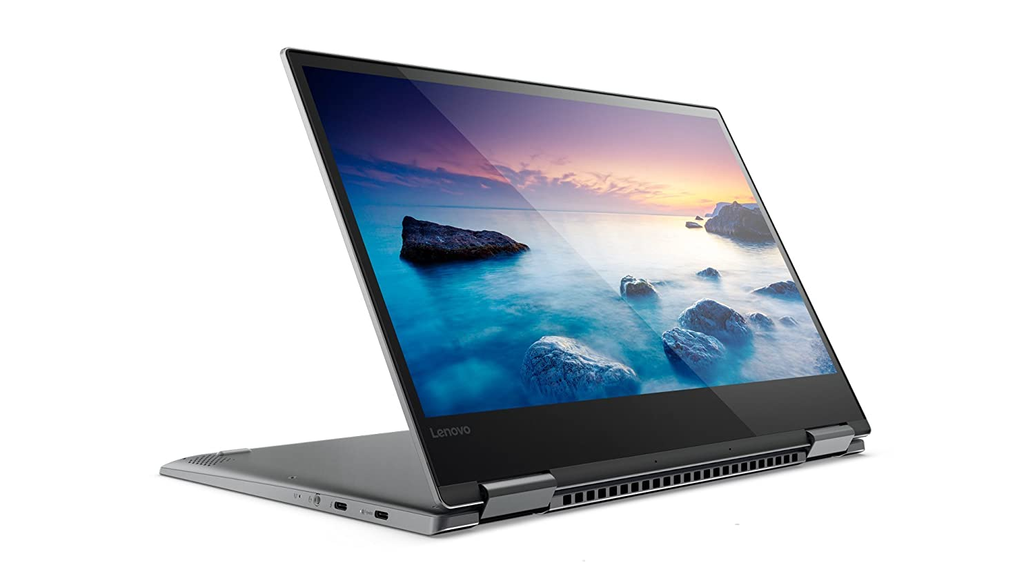 Lenovo Yoga 720 (13,3 FDH TS) Slim portátil Convertible (Intel Core i7 - 7500u, 16 GB de RAM, 512 GB SSD, Intel HD Gráficos 620, Windows 10 Home) gris 512 ...