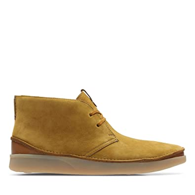 fashion style sale entire collection Clarks Oakland Rise Nubuck Boots in Ochre: Amazon.co.uk ...