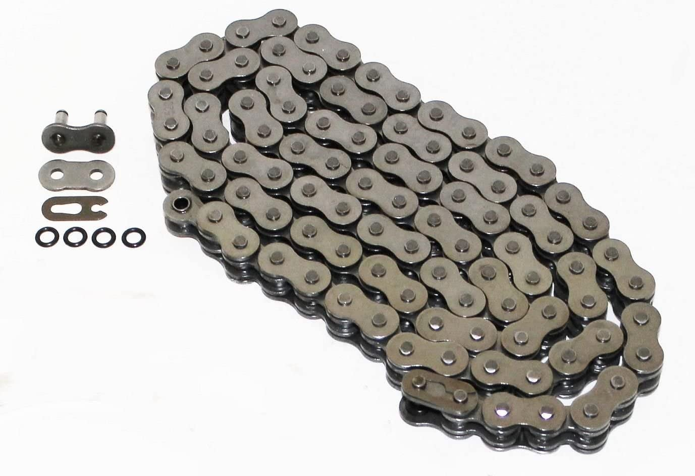 Yellow Non O-Ring Chain /& Silver Sprocket 15//40 102L 89-93 fits Yamaha YFM350 Warrior