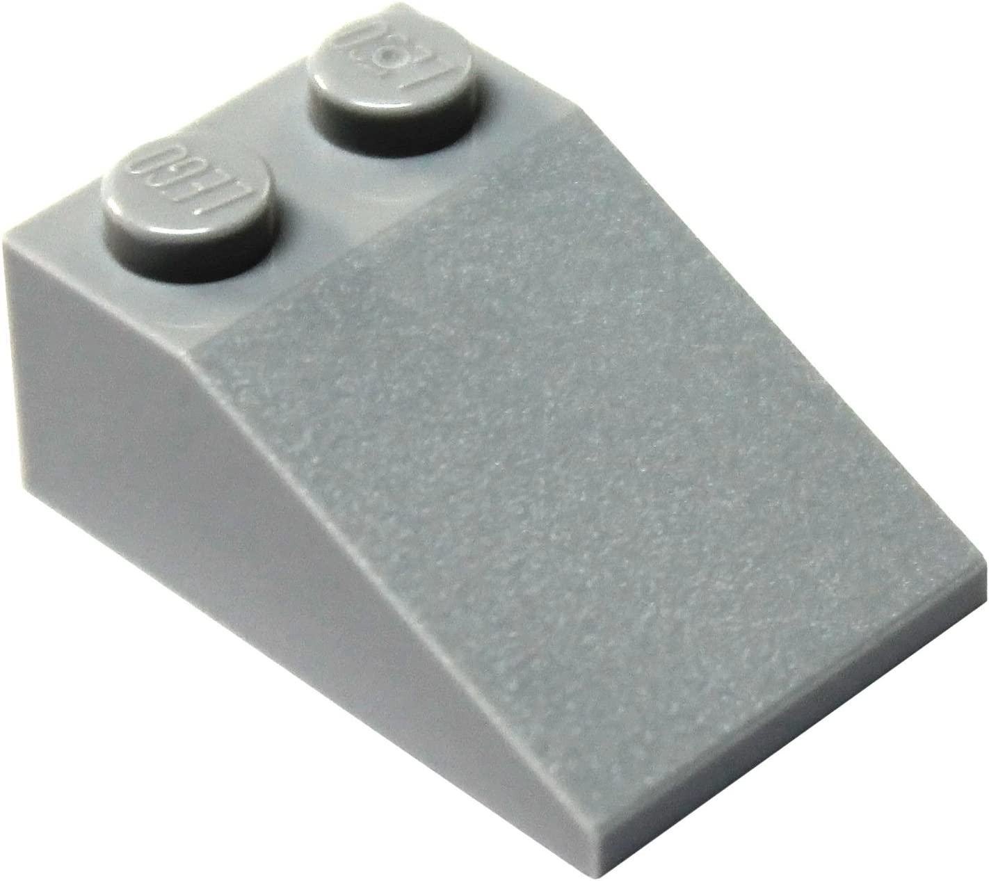 LEGO Parts and Pieces: Light Gray (Medium Stone Grey) 2x3 33 Slope x50