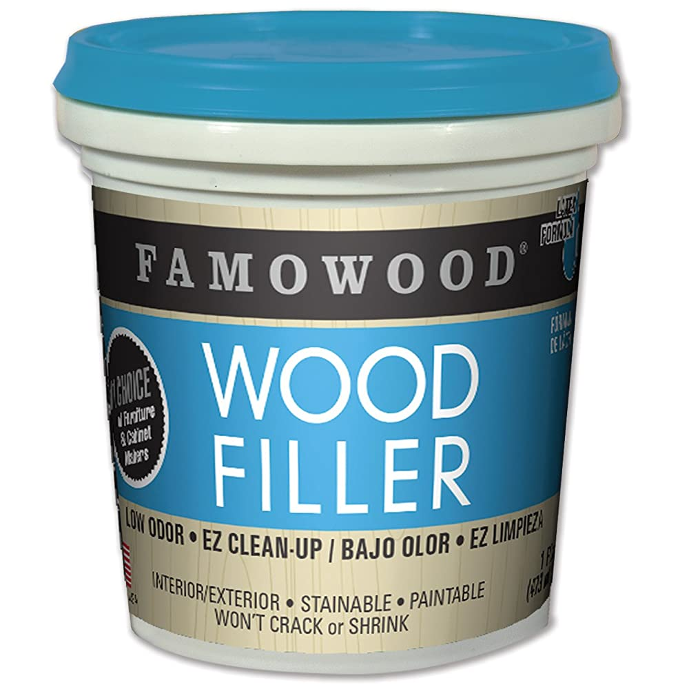 Famo Wood 40022134 Latex Wood Filler Review