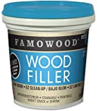 FamoWood 40022126 Latex Wood Filler - Pint, Natural