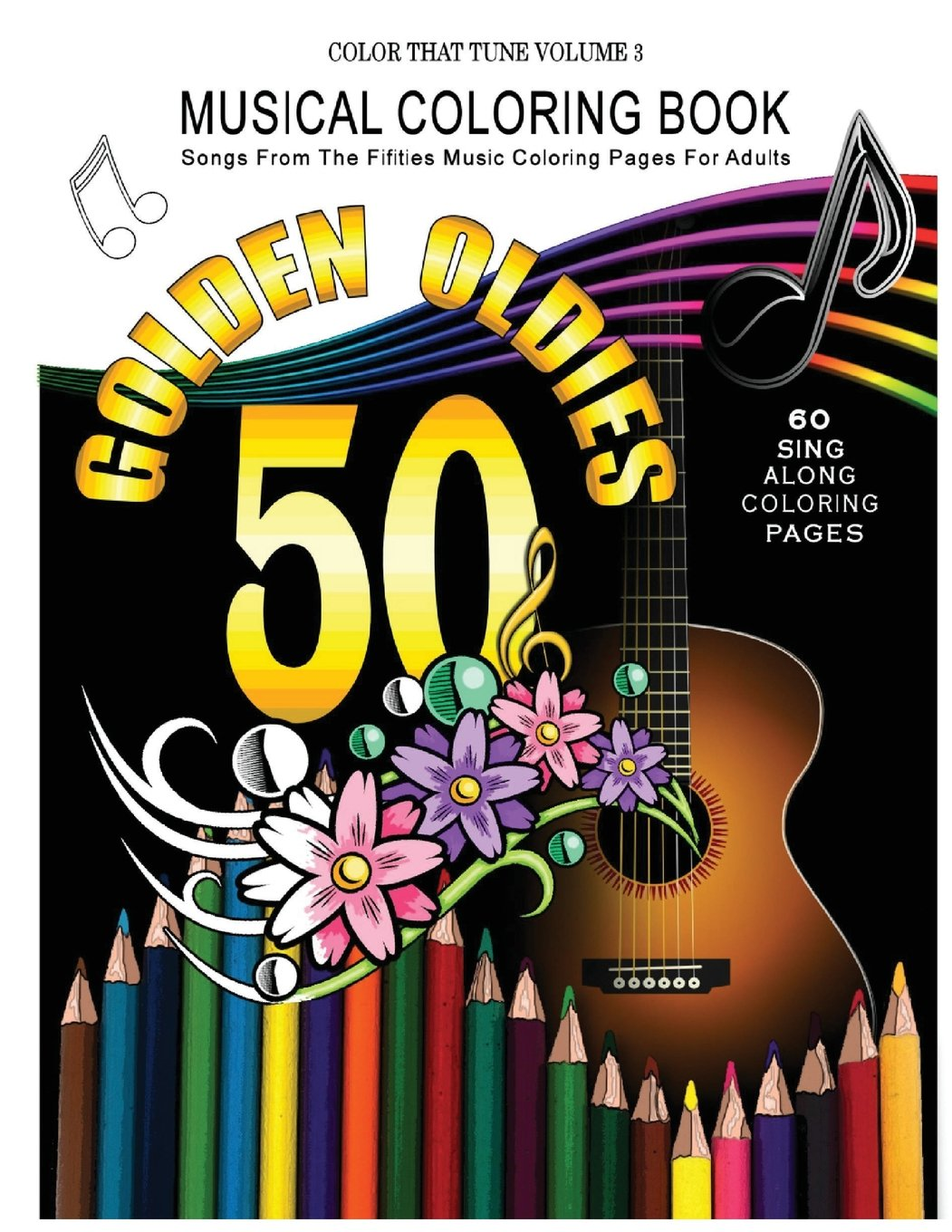 Amazon.com: Musical Coloring Book: Songs From The Fifties Music ...