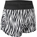 "Baleaf Women's 3"" Active Running Shorts Zip Pocket"