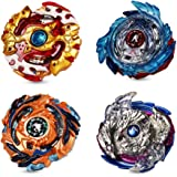 Beyblade Burst, Innoo Tech 4 Pieces Battle Gyro Top Set, 4D Fusion Model Metal Masters Acceleration Launcher, Speed Spinning Top with Base Arena, Great Kids Toy