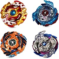 ANEAR 2020 Beyblade Burst Battle Gyro Top Set of 4, 4D Fusion Model Metal Masters Acceleration Launcher, Speed Spinning…