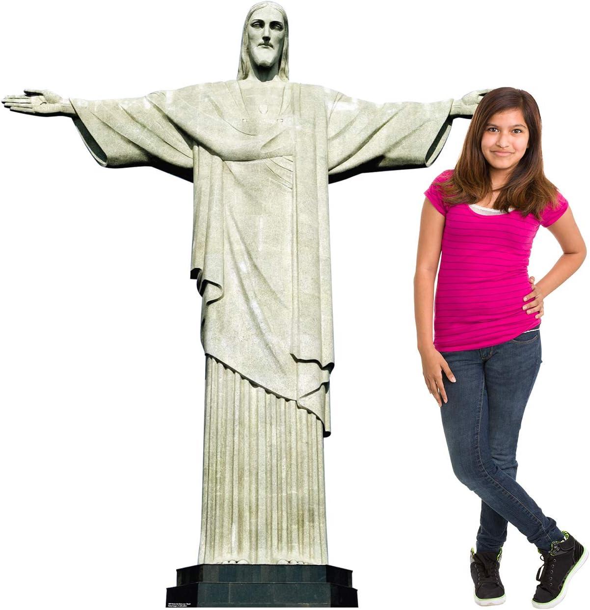 Advanced Graphics Christ The Redeemer Statue in Brazil Life Size Cardboard Cutout Standup