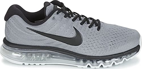 wholesale dealer a4f15 67f01 Nike Air Max 2017 Men s Grey and Black Shoes -8