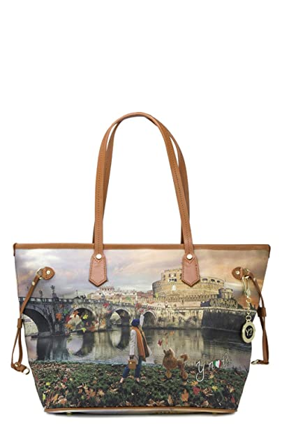 YNOT Shopping Bags BORSE   ACCESSORI K-319 ROMA Joyful Wind Nuovo  Amazon.it   Scarpe e borse 3d786a537d2
