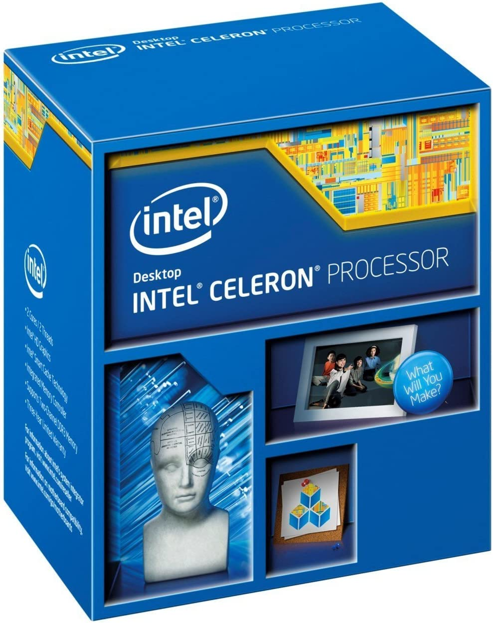 Intel Celeron G1840 Processor -BX80646G1840