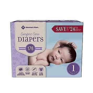 Amazon.com: Miembro de Mark Comfort Care Pañales de bebé ...