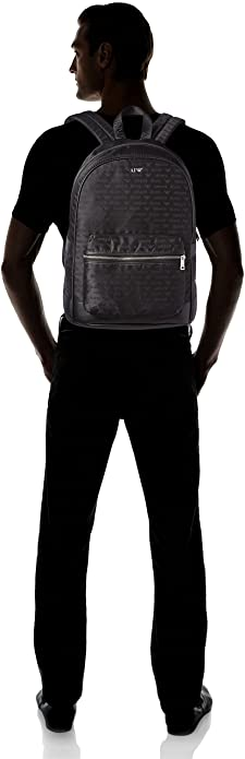 b89455855b0a Armani Jeans Men s 932523CC993 Hobos and Shoulder Bag Black Size  43x14x33  cm (B x H x T)  Amazon.co.uk  Shoes   Bags