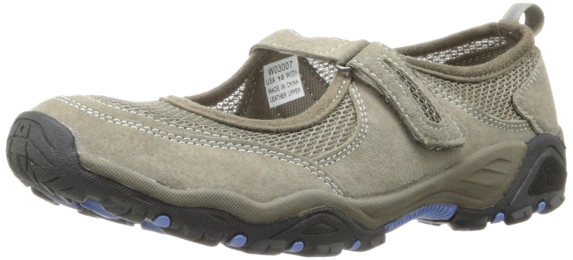 Propet Women's Blazer Mary Jane Walking Shoe,Gunsmoke/Blue,6 M US