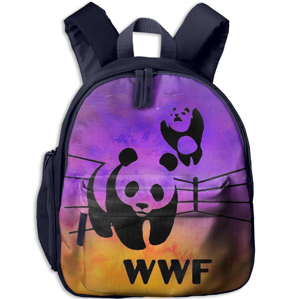 WWF Panda Bear Wrestling Little Kids Toy Bag by School Bag