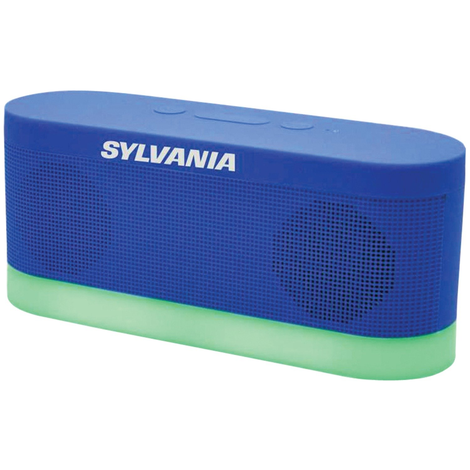Amazon.com: Sylvania SP136-blue Bluetooth Moonlight Speaker with 7-Color  Changing LED Lights (Blue): Home Audio & Theater