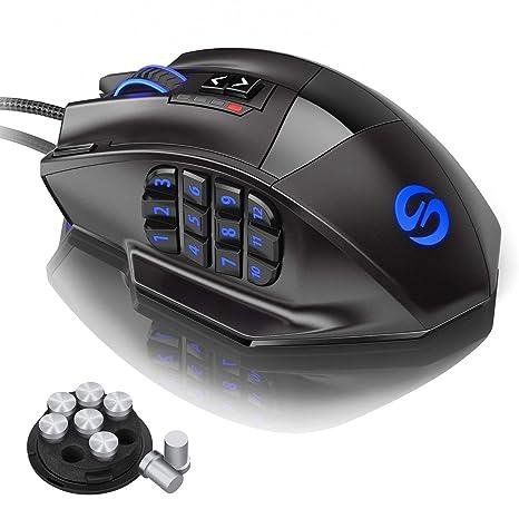 Amazon com: UtechSmart Venus Gaming Mouse RGB Wired, 16400 DPI High