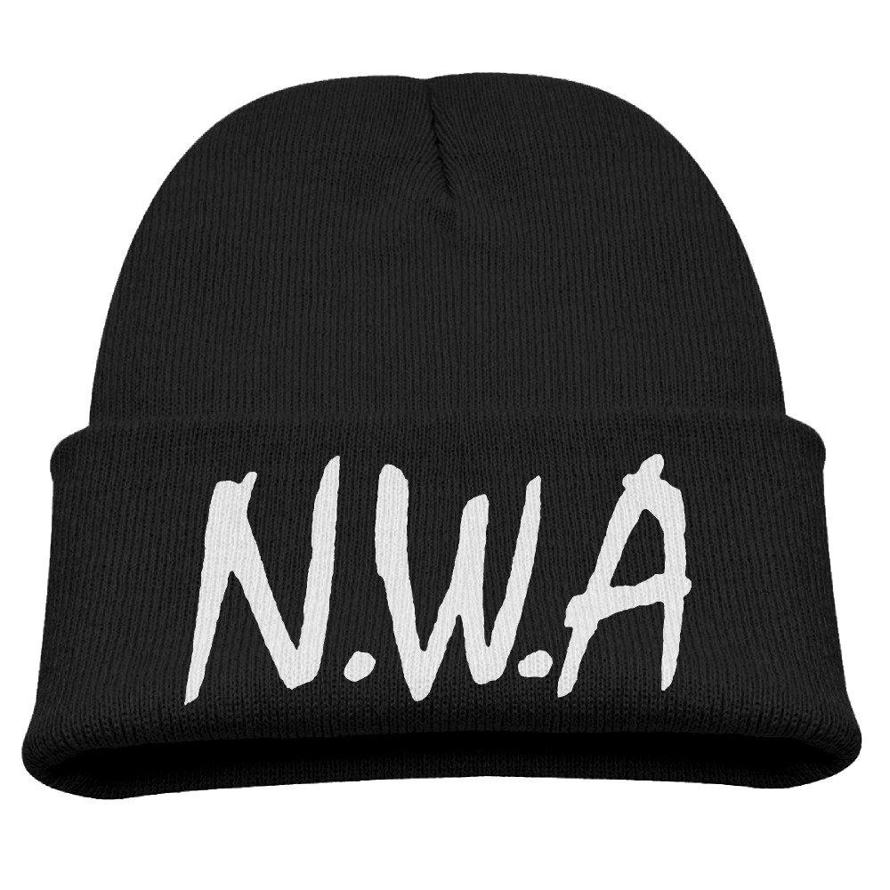 CieMoAs Straight Outta Compton NWA Children Skull Hat Beanies Cap Black