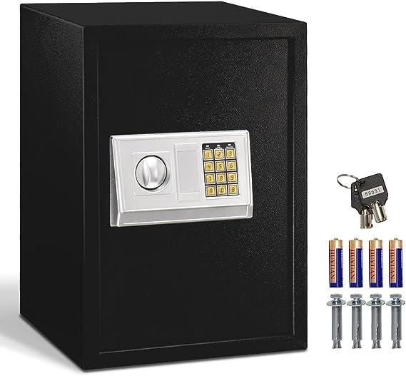 Giantex Large Digital Electronic Safe Box Keypad Lock Security Home Office Hotel Gun Capacity 1.8 Cubic Feet