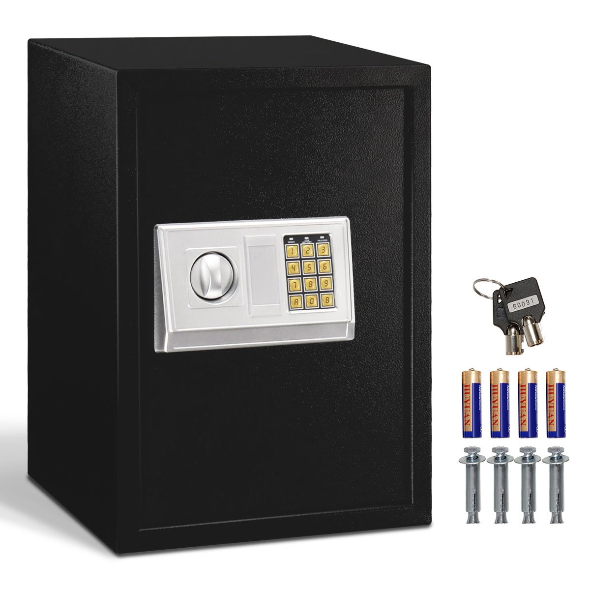Giantex Large Digital Electronic Safe Box Keypad Lock Security Home Office Hotel Gun