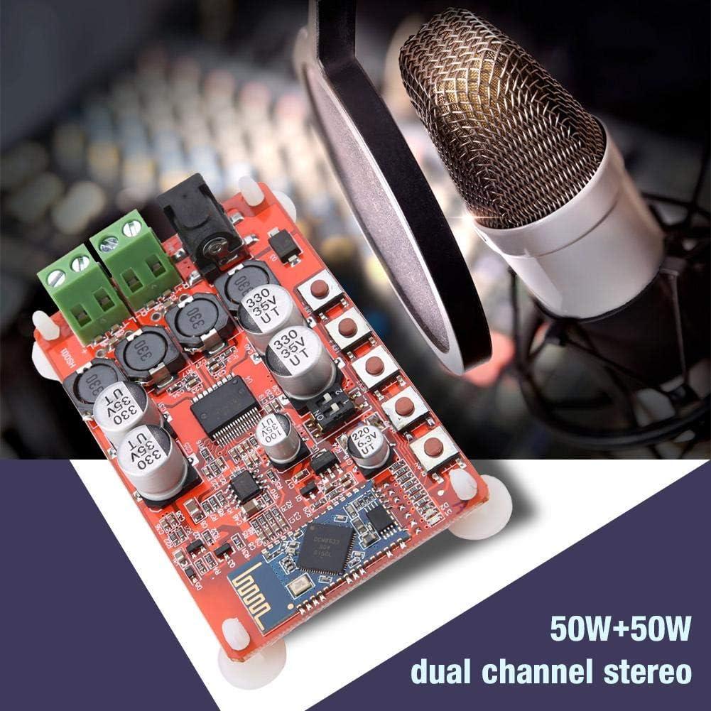 stabil Bluetooth-Verst/ärker Verst/ärkerplatine 8-Ohm-Lautsprecher F/ür 4-Ohm-Lautsprecher 6-Ohm-Lautsprecher zuverl/ässig 16-Ohm-Lautsprecher leicht ausgezeichnet