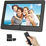 Digital Photo Frame 1280x800 16:9 IPS Screen Include 32GB SD Card HD Digital Picture Frame Widescreen, Support 1080P Videos,