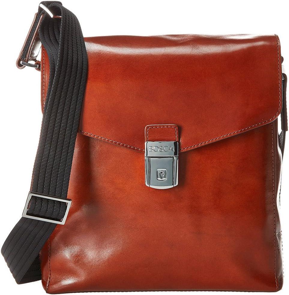 Bosca Old Leather Man Bag Amber