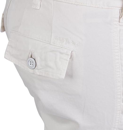 Masons Donna Pantalone Cargo evita ECRU cbe109