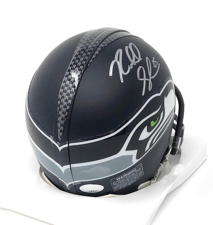 Richard Sherman Seattle Seahawks Signed Autograph Speed Mini Helmet R Sherman Hologram Certified