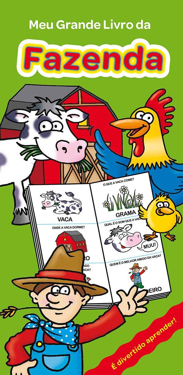 Meu Grande Livro Da Fazenda: Vários Autores: 9789463048378: Amazon.com: Books
