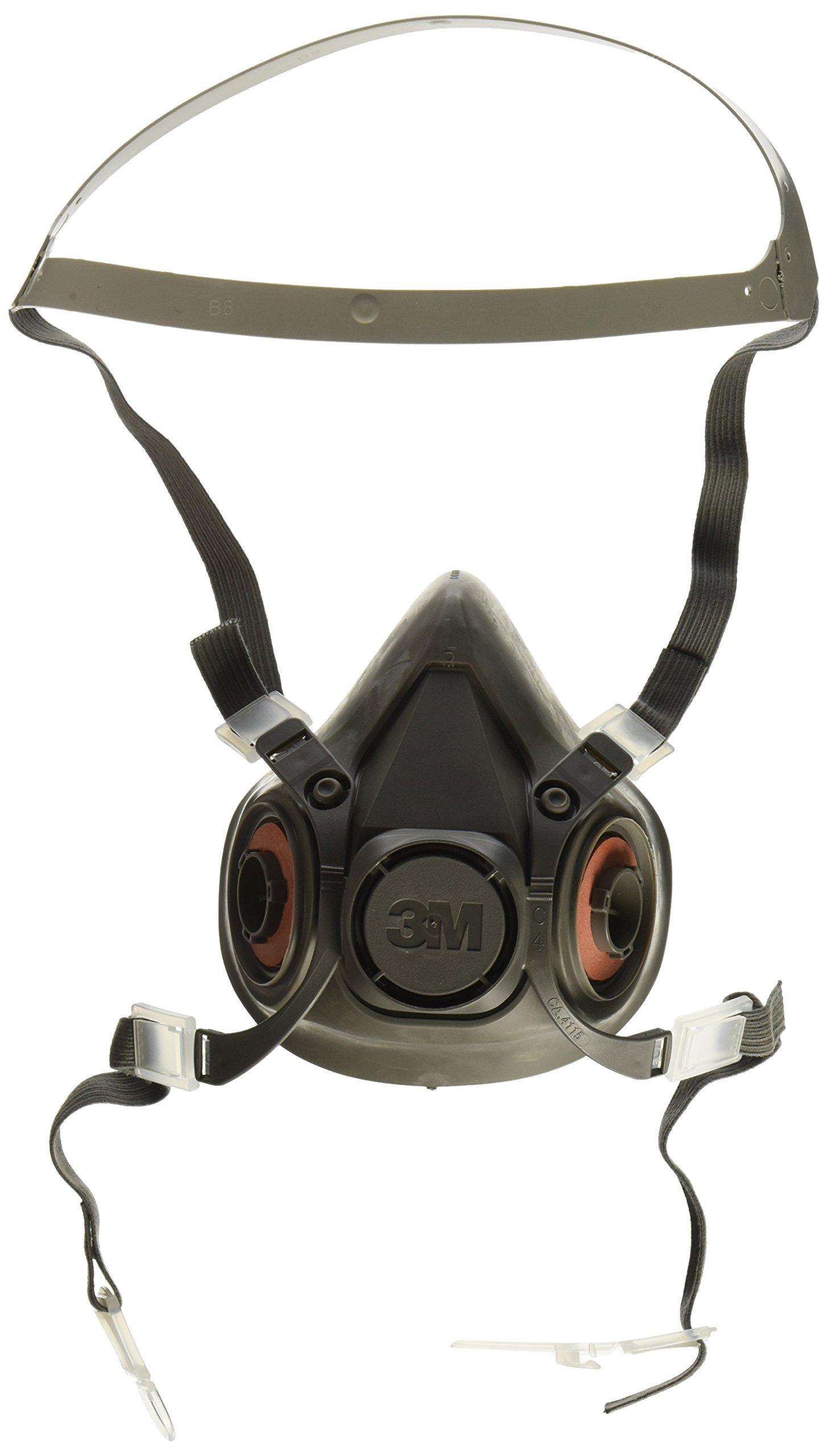 MMM6300 - Half Facepiece Respirator 6000 Series