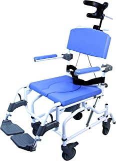 Amazon.com: ShowerBuddy roll in shower chair with tilt: Health ...