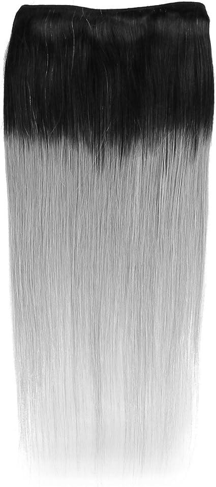 Beauty7 cartucho de tinta negra de color gris de pelo de diseño de tejido de color plateado y dorado película pesadilla antes de Navidad caída de ...