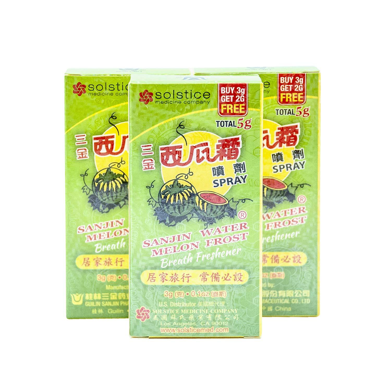 Sanjin Watermelon Frost Spray - Breath Freshener (0.1 Oz.) - 1 Bottle Ltd.