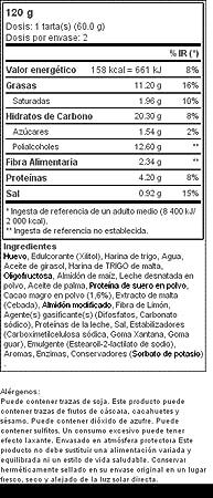 2 x Chocolate Muffins - Magdalenas con bajo contenido en ...