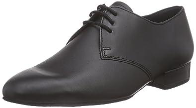 Diamant Chaussures de Danse de Salon Homme - Noir - Noir, 48 2/3