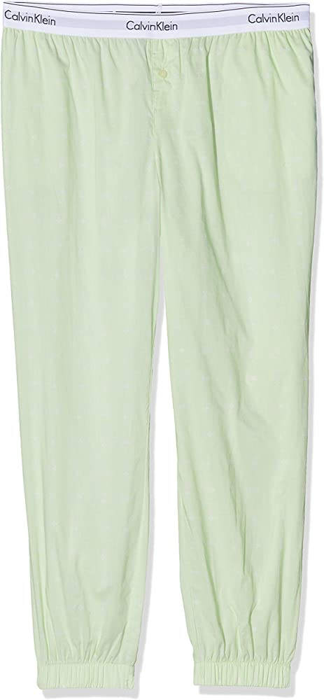 Calvin Klein Jogger Tanga, Verde (Five Points Print FPV), 38 (Talla del Fabricante: Small) (Pack de 2) para Mujer: Amazon.es: Ropa y accesorios