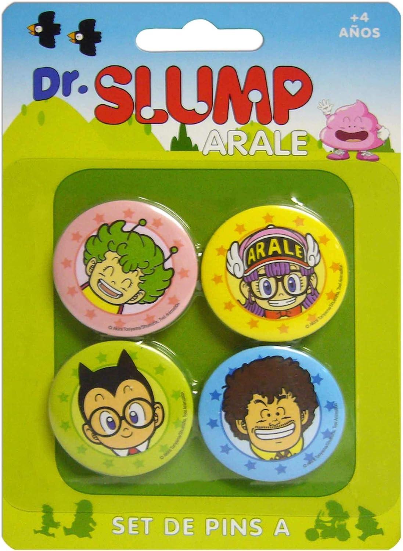 DR Slump Personajes Set A DE 4 Pins DR Slump: Amazon.es: Juguetes ...