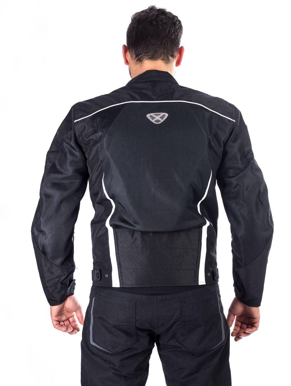 Chaqueta Ixon Textil Hacker Game para el verano, mujer hombre, E4325H_L, blanco y negro, large: Amazon.es: Deportes y aire libre