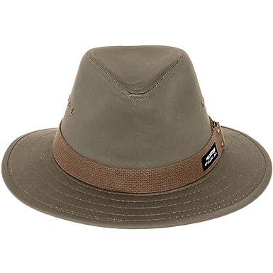 6a2994d9679 Panama Jack Men s Canvas Safari Sun Hat (Olive
