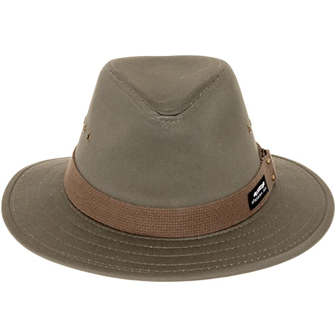 fd0ccc96858047 Image Unavailable. Image not available for. Colour: Panama Jack Men's  Canvas Safari Sun Hat (Olive, Medium)