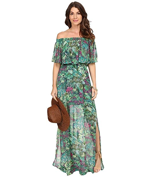 6f3a88a24b Show Me Your Mumu Women s Hacienda Maxi Dress Rainforest Café Dress ...